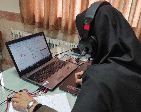 برگزاری کلاسهای آنلاین _ نیمه حضوری و رفع اشکال _ سال تحصیلی 1400 _ 1399